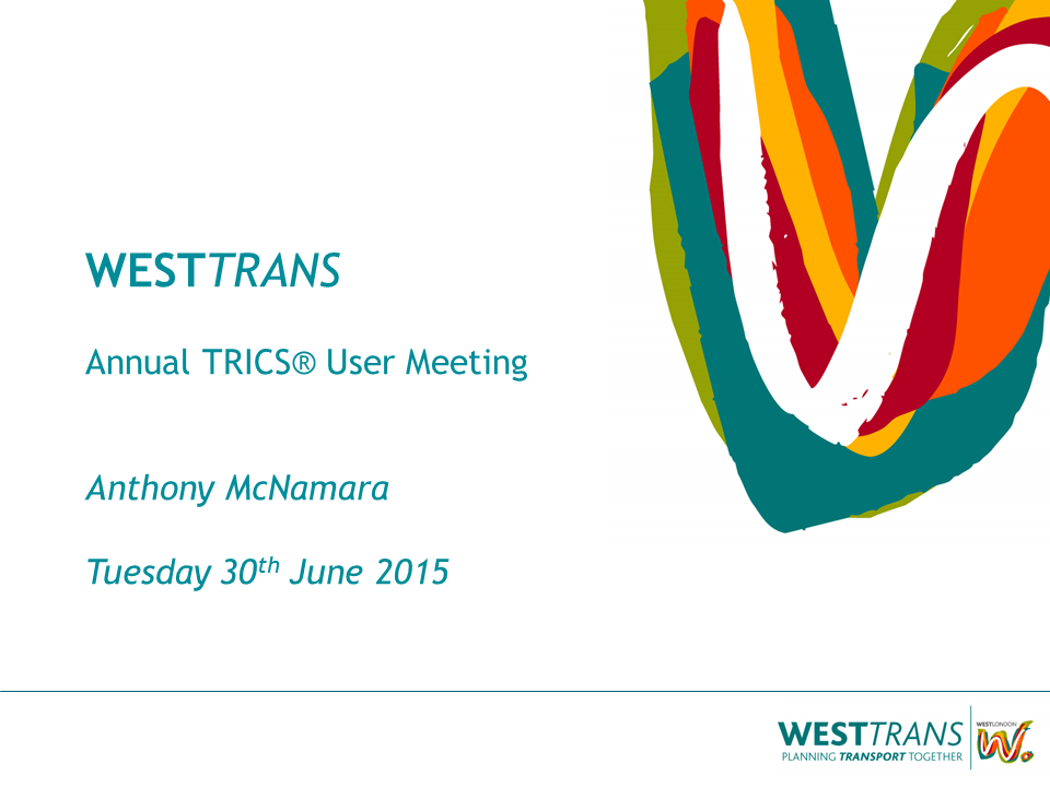 WestTrans - Securing Travel Plan Monitoring in London